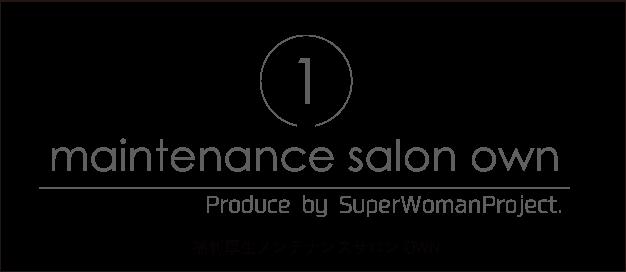 maintenance salon own